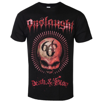 t-shirt metal uomo Onslaught - Death & Glory - RAZAMATAZ, RAZAMATAZ, Onslaught