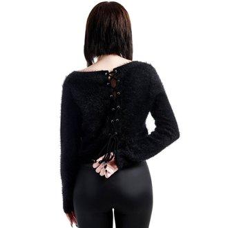 maglione da donna KILLSTAR - Obscura Fuzzy Knit - Nero, KILLSTAR