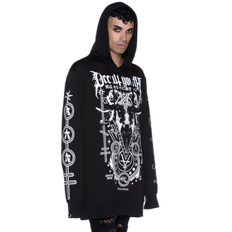 Felpa unisex con cappuccio KILLSTAR - Occult Youth - KSRA002755