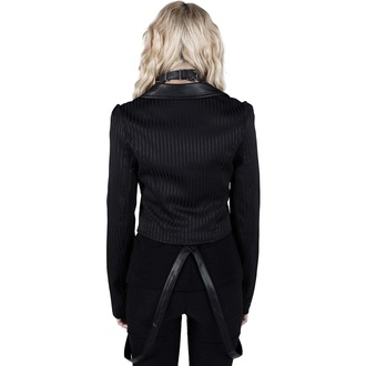 Giacca da donna (blazer) KILLSTAR - Office Demon - Gessato, KILLSTAR