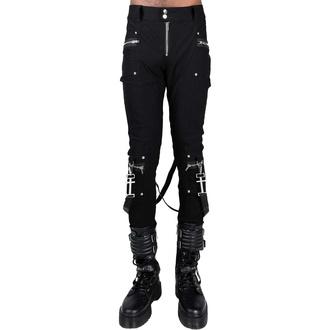 Pantaloni da uomo KILLSTAR - Office Riot Strappy - Nero, KILLSTAR