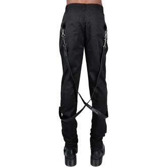 Pantaloni da uomo KILLSTAR - Office Riot Strappy - Gessato, KILLSTAR