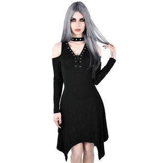 vestito KILLSTAR - Onyx Fall-Deep - NERO, KILLSTAR