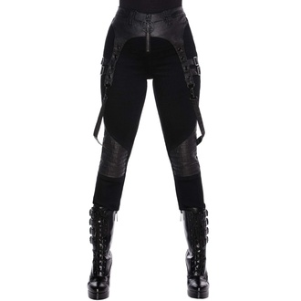 Pantaloni da donna KILLSTAR - Outshined Denim Jeans - NERO, KILLSTAR