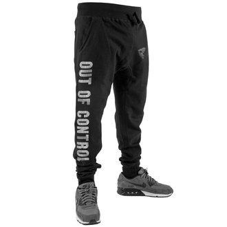 pantaloni della tuta Uomo FAMOUS STARS & STRAPS - OUT OF CONTROL - NERO, FAMOUS STARS & STRAPS