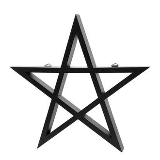 Decorazione KILLSTAR - PENTAGRAM - NERO, KILLSTAR