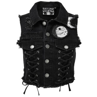 gilet - PHASED OUT DENIM - KILLSTAR