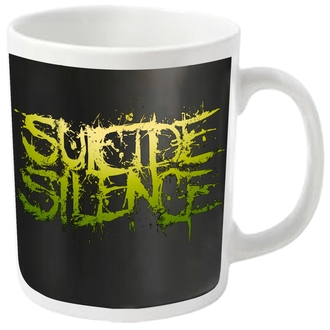 tazza SUICIDE SILENCE - LOGO - PLASTIC HEAD, PLASTIC HEAD, Suicide Silence