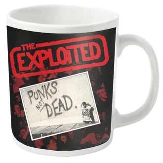 tazza EXPLOITED - PUNKS NOT DEAD - PLASTIC HEAD, PLASTIC HEAD, Exploited