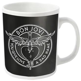 tazza BON JOVI - BAD NAME - PLASTIC HEAD, PLASTIC HEAD, Bon Jovi