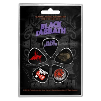 Plettri Black Sabbath - Purple Logo - RAZAMATAZ, RAZAMATAZ, Black Sabbath
