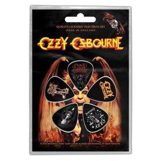 Plettri OZZY OSBOURNE - CLASSIC LOGO - RAZAMATAZ, RAZAMATAZ, Ozzy Osbourne