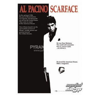 poster Scarface (Film One-sheet) - PP30091, PYRAMID POSTERS, Scarface