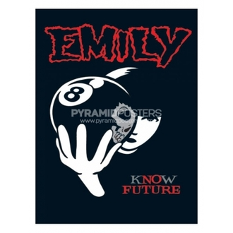poster - Emily The Strange (8 Ball) - PP31297, EMILY THE STRANGE