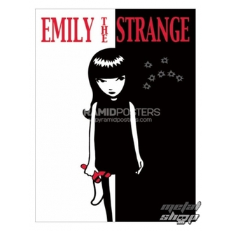 poster - Emily The Strange (Strange Face) - PP31523, EMILY THE STRANGE