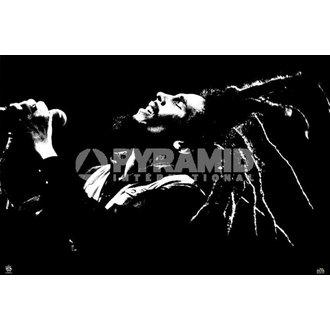 poster Bob Marley (B & N) - PYRAMID POSTER, PYRAMID POSTERS, Bob Marley