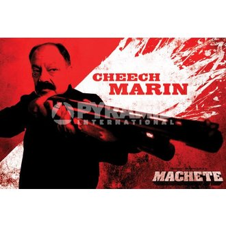 poster Neca - Macete (Cheech) - PYRAMID POSTER, PYRAMID POSTERS