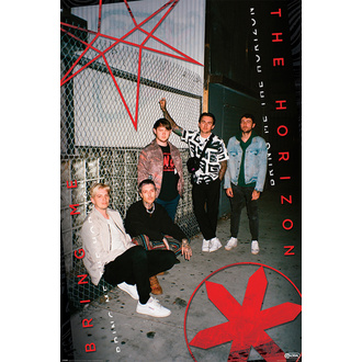 Poster BRING ME THE HORIZON - RED EYE - PYRAMID POSTERS, PYRAMID POSTERS, Bring Me The Horizon