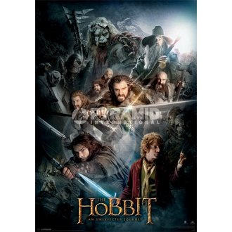 immagine 3D Lo Hobbit Buio Montage - Pyramid Posters, PYRAMID POSTERS