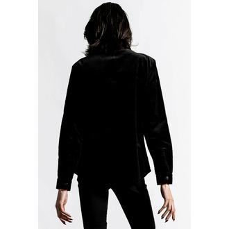 Camicia da uomo KILLSTAR - Pull The Cord Button-Up - Nero, KILLSTAR