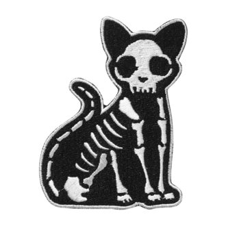 toppa da stirare KILLSTAR - Purr Bones - NERO, KILLSTAR
