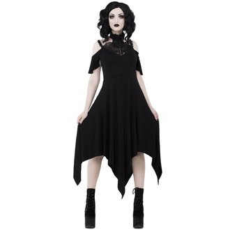vestito KILLSTAR - PYRE PIXIE EVENING - NERO, KILLSTAR
