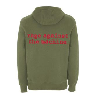 felpa con capuccio uomo Rage against the machine - Red Star Olive - NNM, NNM, Rage against the machine