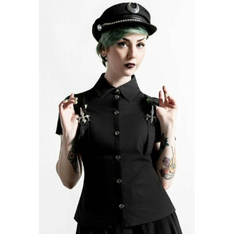 Camicia da donna KILLSTAR - To The Nines - Nero, KILLSTAR