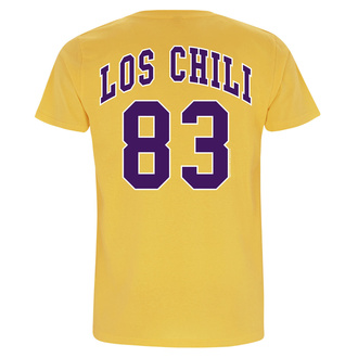 t-shirt metal uomo Red Hot Chili Peppers - Los Chili Yellow - NNM, NNM, Red Hot Chili Peppers