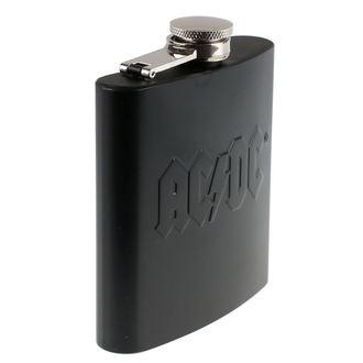 fiaschetta  AC  /  DC  - Hip Flask Embossed, AC-DC