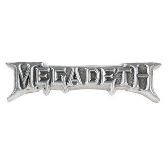 targhetta MEGADETH - ROCK OFF, ROCK OFF, Megadeth