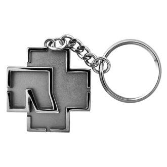 portachiavi RAMMSTEIN - Logo Schlüsselanhänger - grigio, RAMMSTEIN, Rammstein