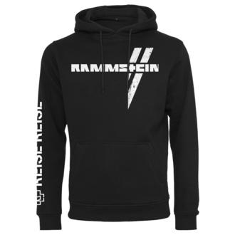 Felpa da uomo con cappuccio Rammstein - Weißes Kreuz - nero, NNM, Rammstein