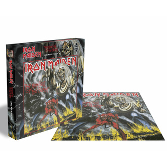 Jigsaw puzzle IRON MAIDEN - THE NUMBER OF THE BEAST - 1000 JIGSAW PIECES - 1000 PEZZI  - PLASTIC HEAD, PLASTIC HEAD, Iron Maiden