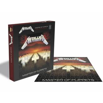 puzzle METALLICA - MASTER DI PUPPETS - 1000 JIGSAW PEZZI, PLASTIC HEAD, Metallica