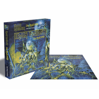 Jigsaw puzzle IRON MAIDEN - LIVE AFTER DEATH - 500 JIGSAW PIECES - PLASTIC HEAD, PLASTIC HEAD, Iron Maiden