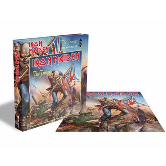 puzzle IRON MAIDEN - the TROOPER - 1000 PEZZI  - PLASTIC HEAD, PLASTIC HEAD, Iron Maiden