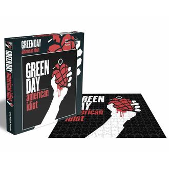 Jigsaw puzzle AMERICAN IDIOT - 500 JIGSAW PIECES - PLASTIC HEAD, PLASTIC HEAD, Green Day