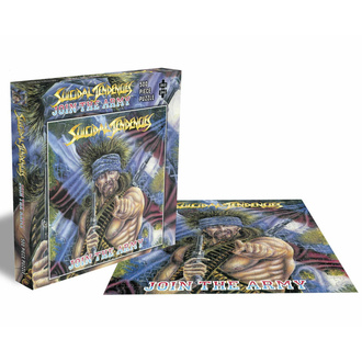 Jigsaw puzzle SUICIDAL TENDENCIES - JOIN THE ARMY - 500 PEZZI - PLASTIC HEAD, PLASTIC HEAD, Suicidal Tendencies