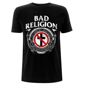 t-shirt metal uomo Bad Religion - Badge - NNM, NNM, Bad Religion