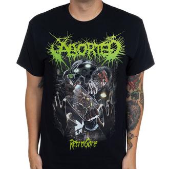 Maglietta da uomo Aborted - Retrogore - INDIEMERCH, INDIEMERCH, Aborted