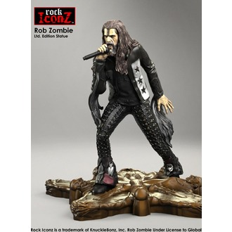 Statua/ figura Rob Zombie - Rock Iconz, KNUCKLEBONZ, Rob Zombie