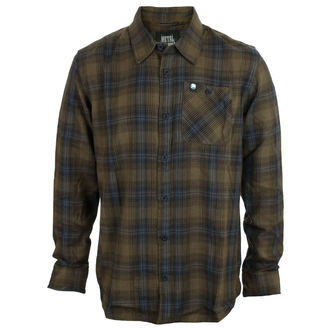 Camicia Uomo METAL MULISHA - BANK, METAL MULISHA