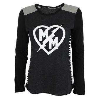 Maglietta Da donna Maniche lunghe METAL MULISHA - SMOKE, METAL MULISHA
