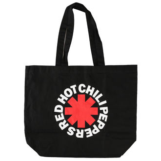 Borsa Red Hot Chili Peppers - Asterisk Logo - Nero acquirente, Red Hot Chili Peppers