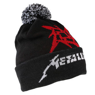 cappello Metallica - Glitch Star Logo - Nero Intrecciata Bobble, Metallica