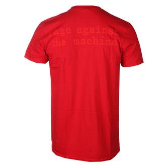 t-shirt metal uomo Rage against the machine - Red Star - NNM, NNM, Rage against the machine