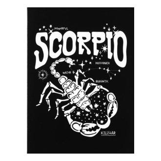 Cartolina d'auguri KILLSTAR - Scorpio - NERO, KILLSTAR