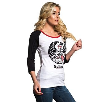 t-shirt hardcore donna - SECRETS RAGLAN - SULLEN, SULLEN