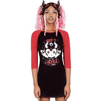 Maglietta da donna (pigiama) KILLSTAR - See U In Hell, KILLSTAR